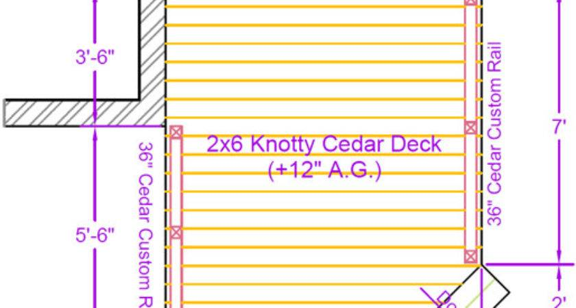 Deck Plan Contents Diy Plans