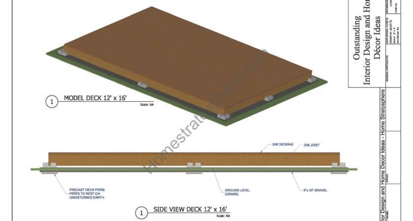Deck Plans Blueprints Pdf
