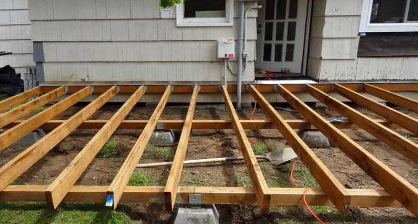 Deck Plans Diy Covered Ideas Framing Tos House