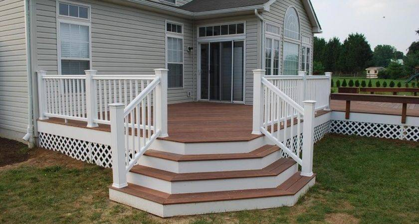 Deck Porch Stairs Designs Design Ideas