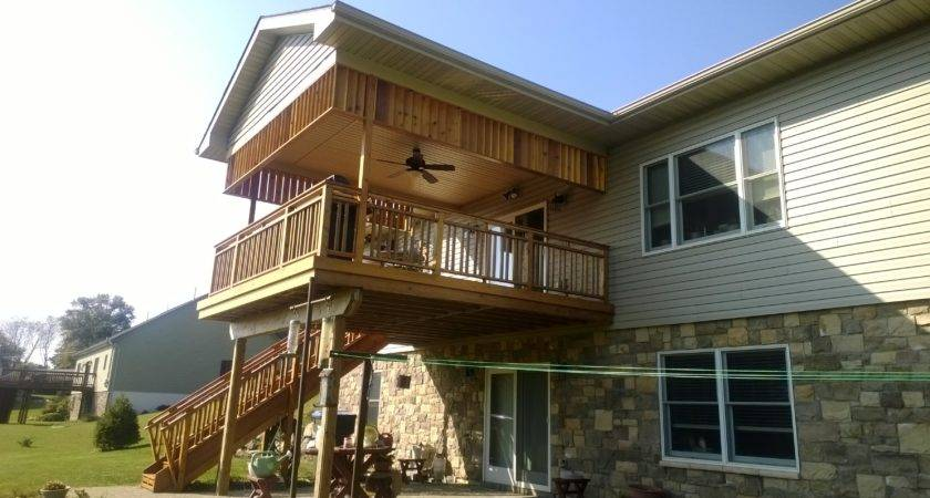 Deck Roof Custom Sunscreen Lehigh Valley