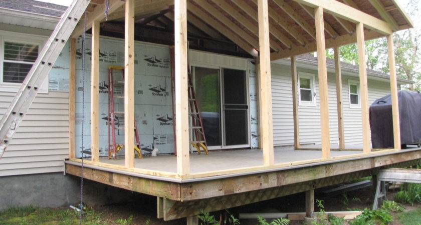 Deck Screened Porch
