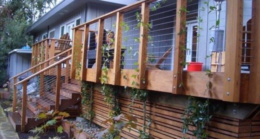 Deck Skirting Home Design Ideas Remodel Decor
