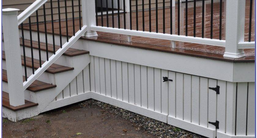 Deck Skirting Ideas Pinterest Decks Home Decorating