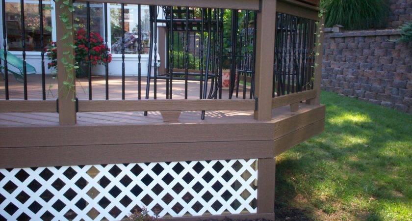 Deck Skirting Louis Decks Screened Porches