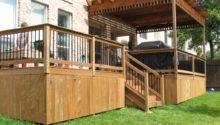 Deck Skirting Rail Optimizing Home Decor Ideas