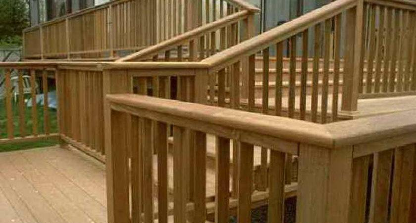 Deck Stair Railing Designs Pixshark