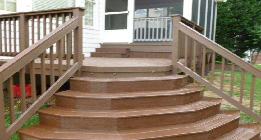 Deck Stairs Design Ideas