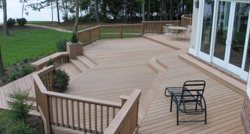 Deck Stairs Ideas Choose Best Stair Design