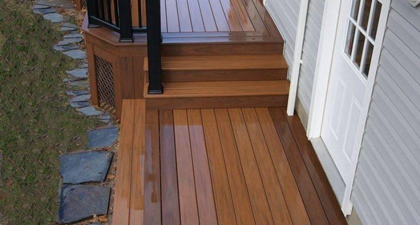 Deck Steps Ideas Diy Storage Under Front Porch