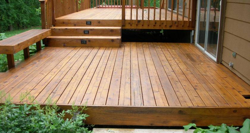 Deck Stunning Ground Level Plans Inspiring