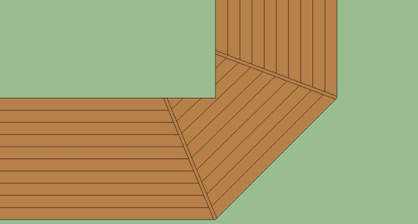 Decke Design Wrap Around Home Ideen