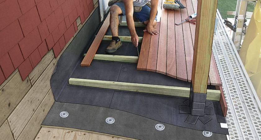 Decking Over Roof Fine Homebuilding