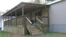 Decks Porches Mobile Home Woman
