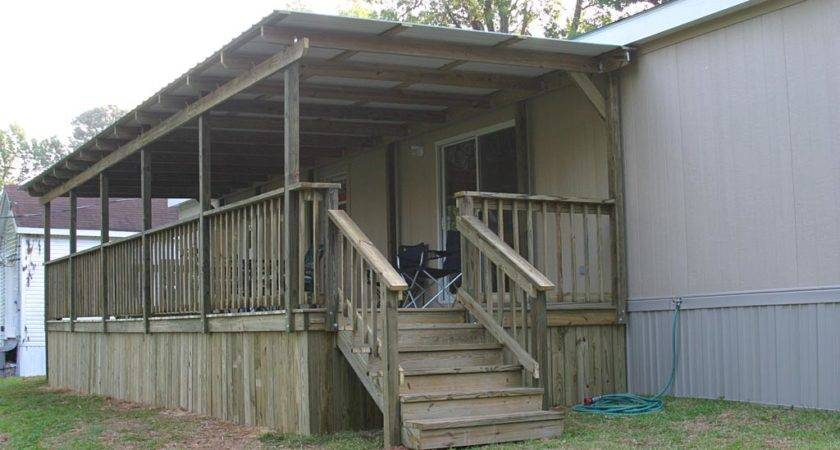 Decks Porches Mobile Home Woman