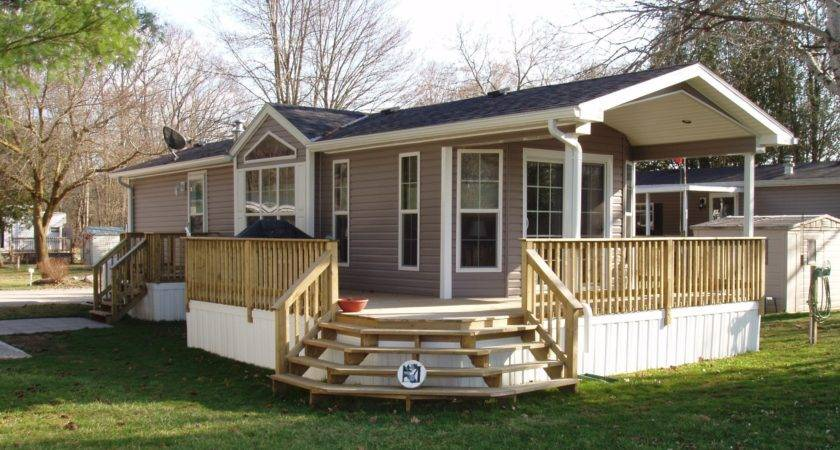 Decks Single Wide Mobile Homes Joy Studio Design