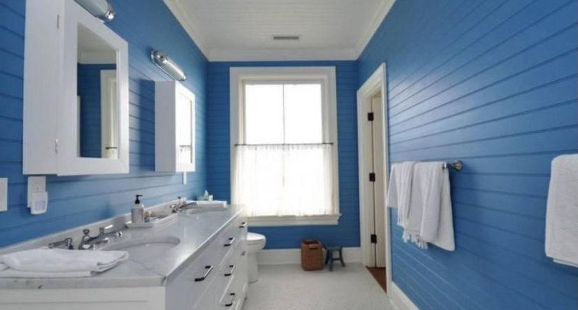 Decora Mais Bonitos Banheiros Azul