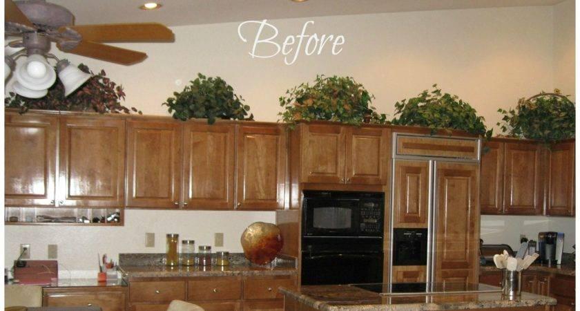 Decorate Above Kitchen Cabinets Boy
