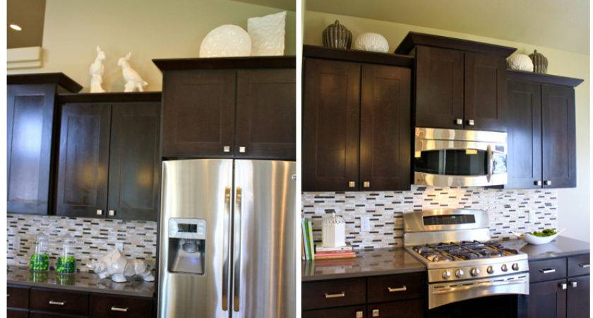 Decorate Above Kitchen Cabinets Shaweetnails