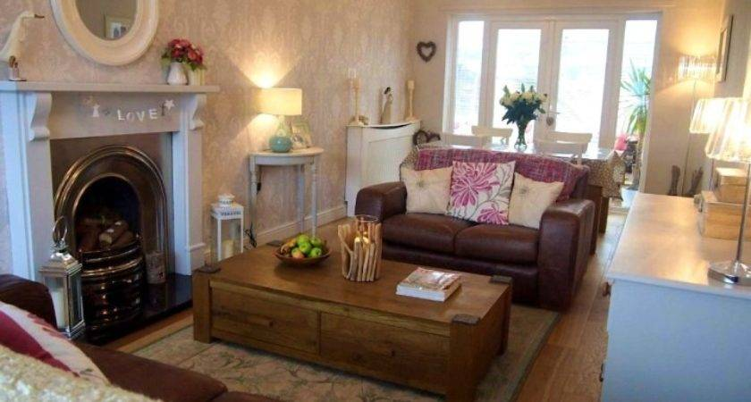 Decorate Long Narrow Living Room Corner