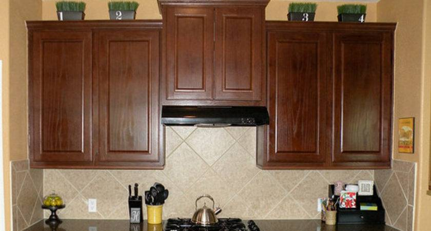Decorate Top Your Cabinets Easy Trick