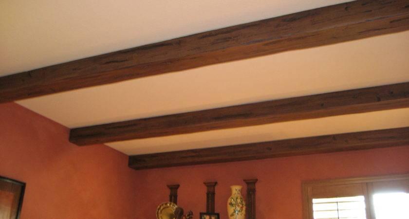 Decorating Faux Wood Beams Ceiling Design Ideas