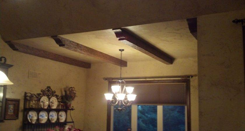Decorating Faux Wood Beams Ceiling Design Ideas