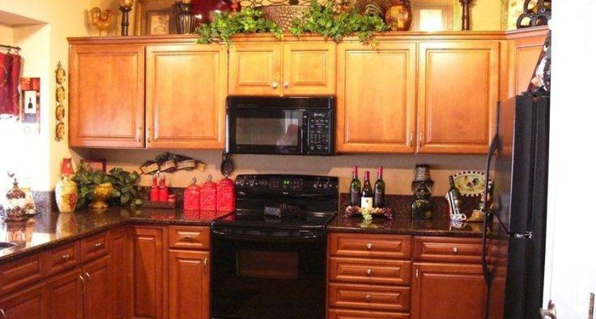 Decorating Ideas Top Kitchen Cabinets Home