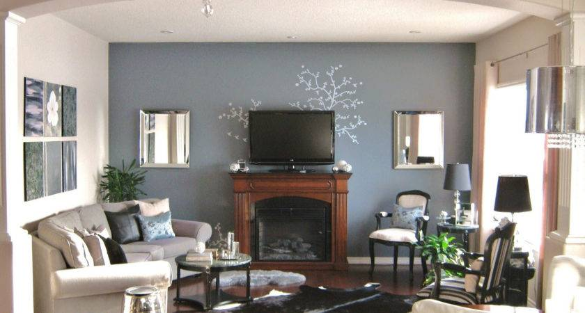 Decorating Living Room Fireplace Home Combo