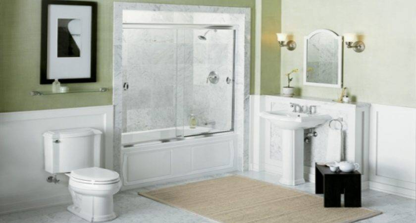 Decorating Small Bathrooms Budget Home Design