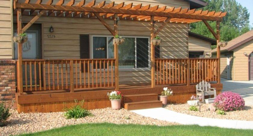 Decorating Small Front Porch Deck Designs
