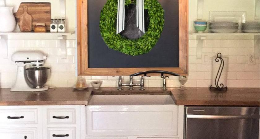 Decorating Wall Above Kitchen Sink Window