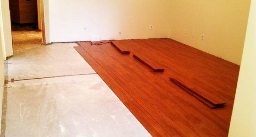 Decorative Concrete Floor Over Plywood Sub