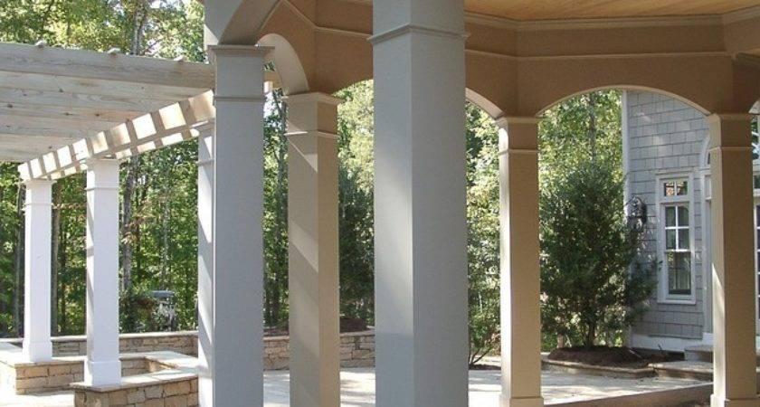 Decorative Pillars Homes Porch Designs