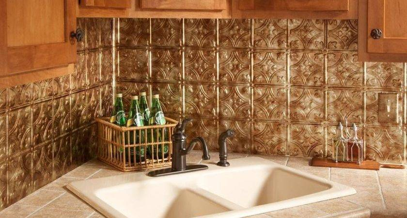 Decorative Thermoplastic Backsplash Panels Iron Blog