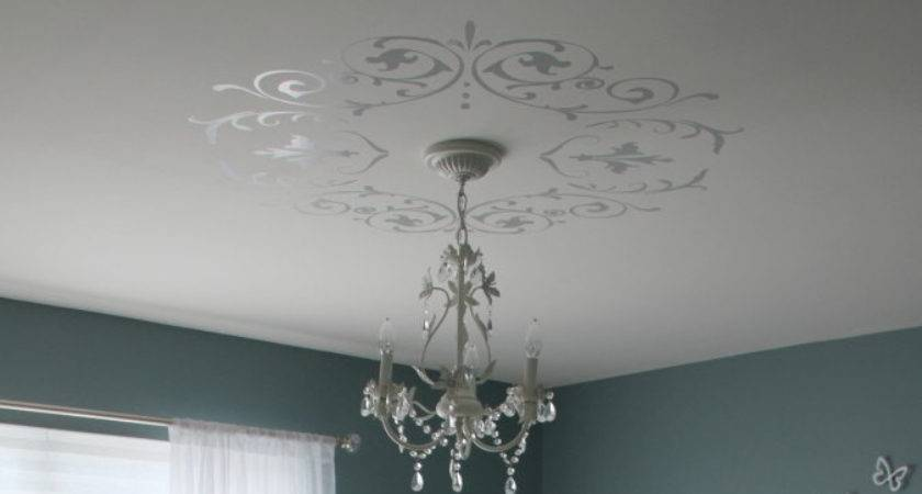 Decorative Wall Ceiling Vinyl Decals Shabby Chic