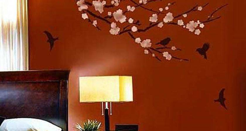 Decorative Wall Painting Ideas Bedroom
