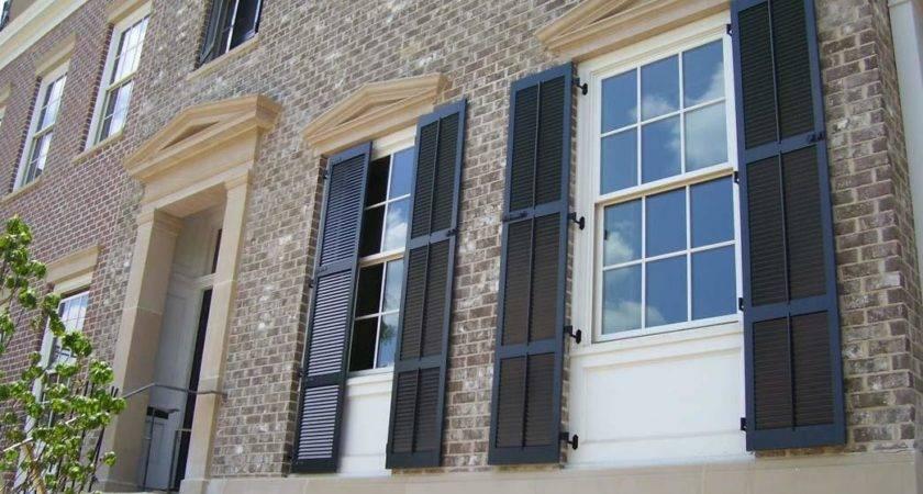 Decorative Window Shutters Exterior Ideas All