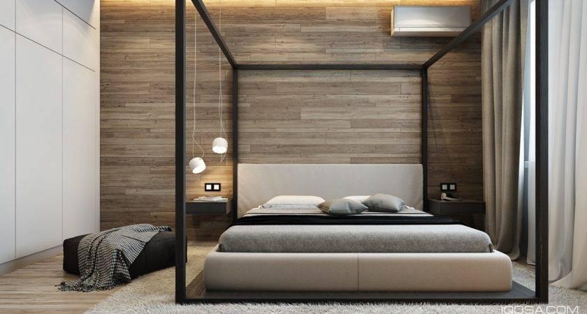 Design Chic Modern Space Around Brick Accent Wall