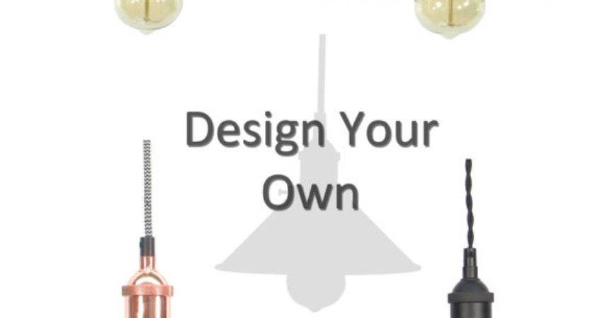 Design Your Own Shade Pendant Light Mix Match Nickle