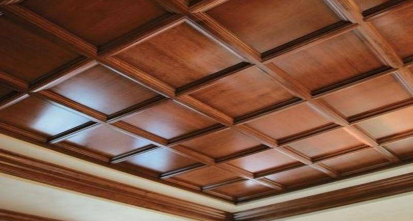 Designer Walls Bedroom Faux Wood Drop Ceiling Panels