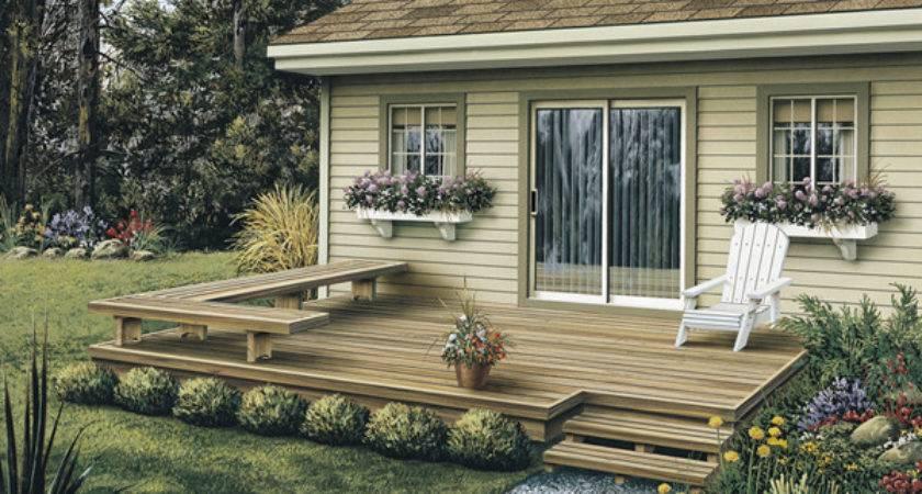 Dewey Low Patio Decks Plan House Plans More