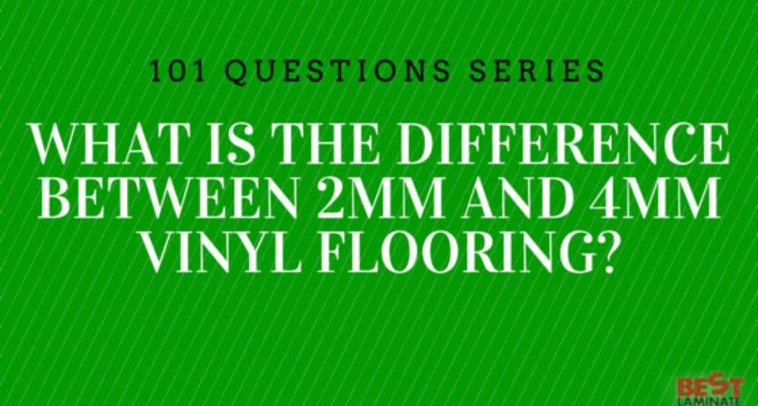Difference Between Vinyl Floors