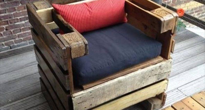Different Diy Pallets Furniture Designs