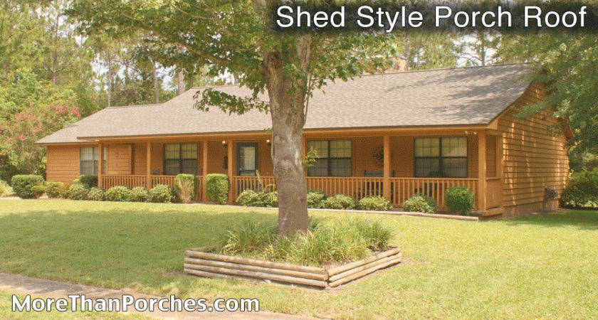 Different Styles Porches