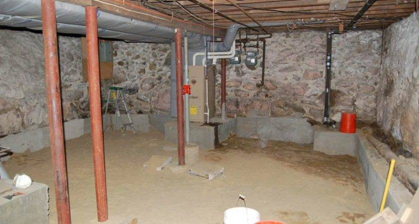 Digging Out Basement Under House Wonderful