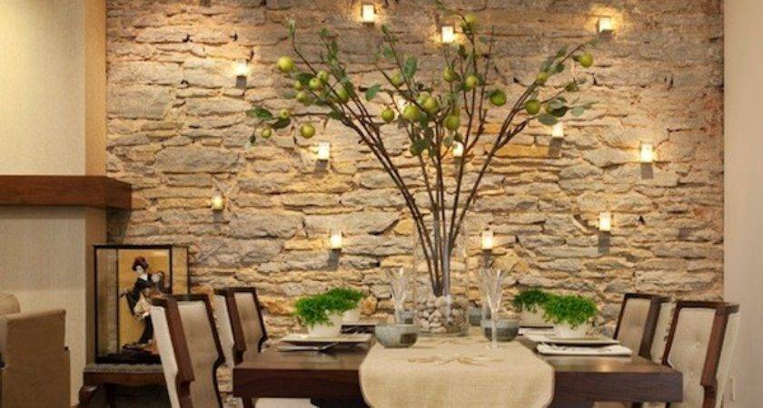 Dining Room Accent Wall Stone Kvriver