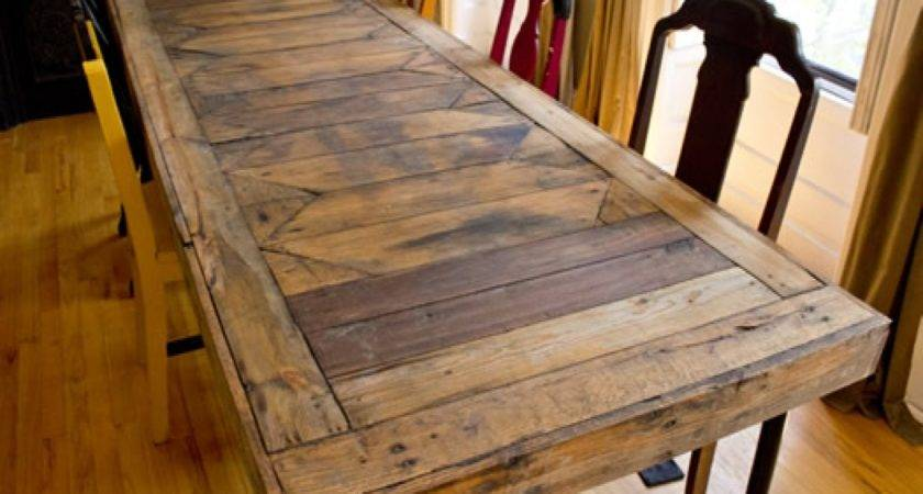 Dining Room End Chairs Table Pallets Pallet