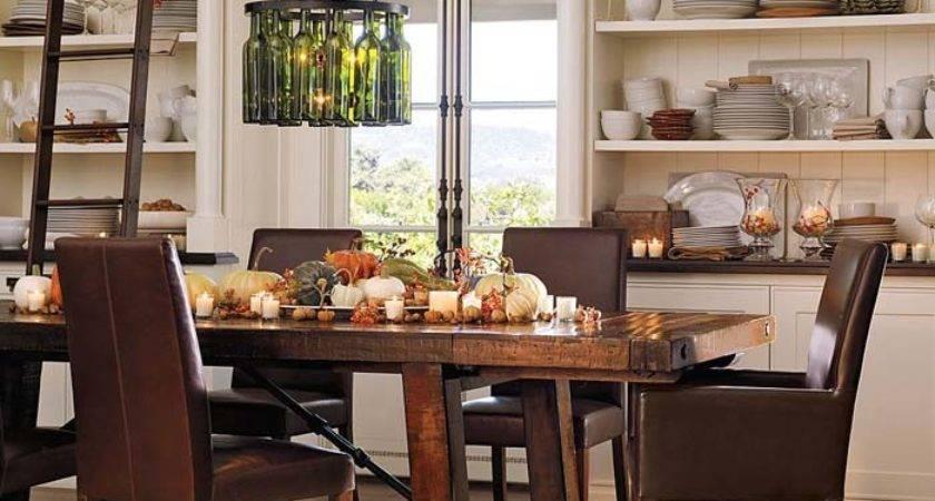 Dining Room Lights Wine Bottle Chandelier Homey Designing