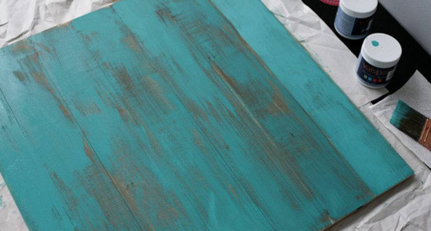 Distressed Wood Project